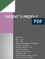 Patient's Profile