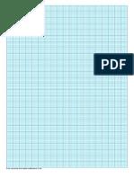Graph Paper 2mm Graph Blue