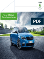 Skoda Octavia Price and Equipment Overview