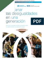 12. Organización Mundial de La Salud – Comisión Sobre Determinantes Sociales de La