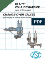 AST Change-Over Valves