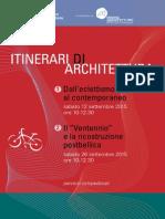 itinerari di architettura Modena