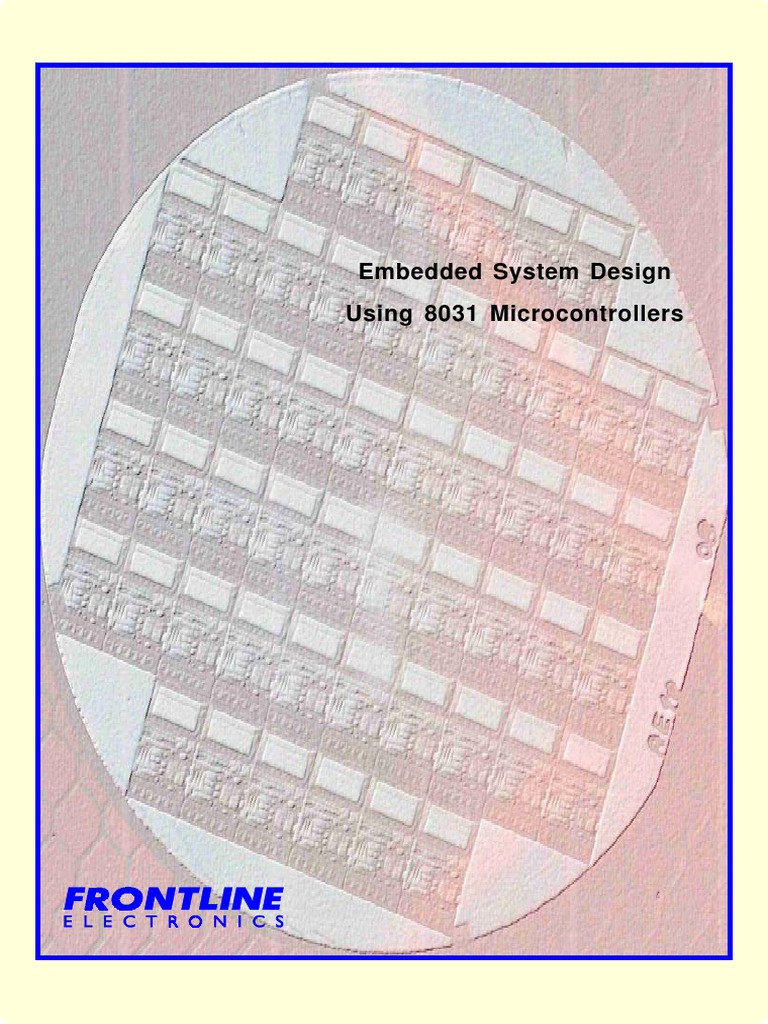Embedded Sysem Design Using 8031 Microcontrollers Instruction Set Frequency And Pulse Width Measurement Microcontroller At89c51