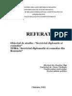 Particularitatile Serviciului Diplomatic in Romania(2)