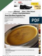 1 Mix Veg Soup-Sanjeevkapoor