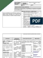 Programa Analitico  de producción de Gas