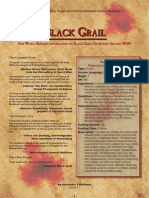 New World Bestiary - Black Grail