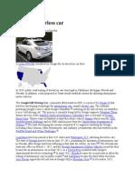 Google Driverless Car Wiki