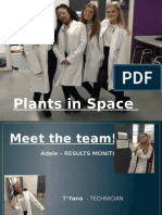 1 SHU UK Plants in Space