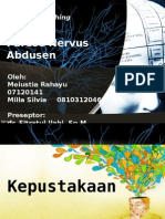 Parese Nervus Abdusen