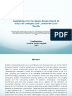 Guidelines for Forensic
