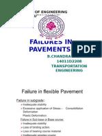Seminar of Failures in Flexible Pavement