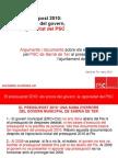Pressupost 2010 - Els errors del govern, la rigorositat del PSC