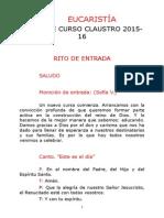 Misa Inicio Claustro 201415