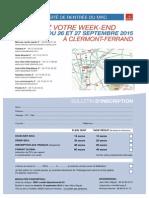 URMRC2015 Bulletin Inscription