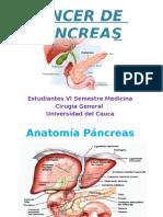 Cáncer de Pancreas