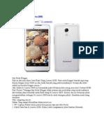 Cara Flash Ulang Lenovo S880