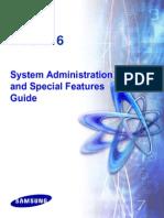 Samsung DCS816 System Administration Manual
