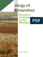 2014 Ecology of Salt Marshes Jan Bakker