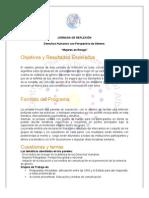 Derechos Humanos con Perspectiva de Genero. Concept Note+ Programa