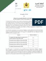Avis Public 13-15 Concernant Les Mesures de Sauvegardes Sur Le Simportations Des Tôles Laminées à Froid