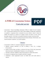 ATORAS Carta dei servizi Associazione Torinese Anti stalking