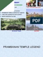 The Most Popular Folk Tale Prambanan Temple