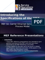 Overview of MEF 50