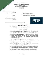 Legal Forms Complaint