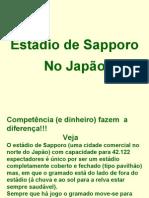 Estádio de Sapporo No Japão