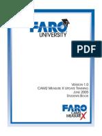 08m13e11 - Update Training  FARO CAM2 Measure X Workbook for the Student - June 2005.pdf