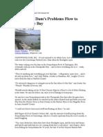 Conowingo Dam's Problems Flow to Chesapeake Bay