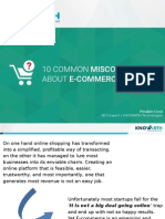 10 Common Misconceptions About E-Commerce