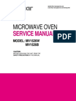 Microwave Oven Service Manual