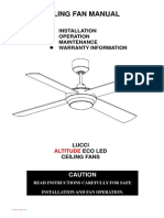 Ceiling Fan Service Manual