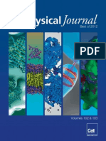 Best biophysics Papers of 2012