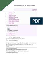 EstructuraProgramatica de Los Programas de Salud