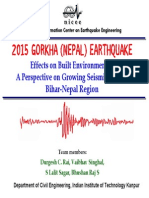 NICEE Nepal EQ 2015 Short Presentation
