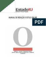 Manual de Redação O Estado RJ