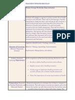 teaching strategies plan-5