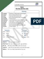 Prim 4- Booklet 1st Term ( Macmillan)