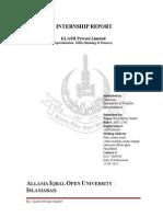 Kalash Internship Report