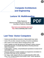 CS 152 Computer Architecture and Engineering Lecture