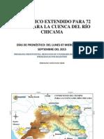 Pronostico Cuenca Chicama 2015