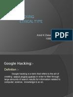 Google Searching Hacking