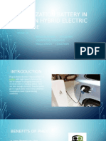 Optimization Battery in Plug-In Hybrid Electric Vehicle