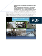 Nivel de Conocimientos de Los Planes de Emergencia y Riesgos Ambientales Carol Sanchez