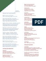 Gary Granada Lyrics - Rizal