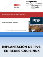 IPv6 linux windows manual