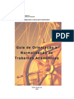 ABNT 2011 - Orientações IFSP